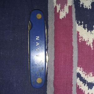 Vintage swiss Navy knife